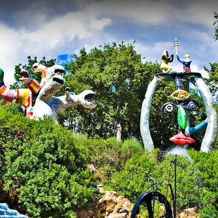 Tarottuin - het kleine Parc Guell in Toscane