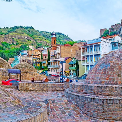Bathe like a king at Tbilisi Balneological Resort