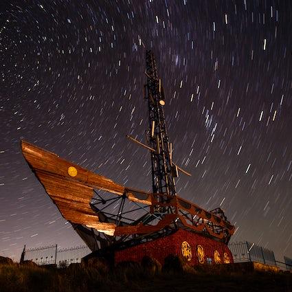 A Arca de Noé na montanha sagrada Kazygurt