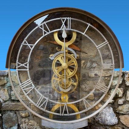 Pesariis, el pueblo del reloj