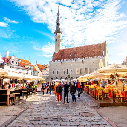Tallinn Town Hall – the oldest city hall in northern Europe