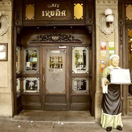 Drink where Hemingway drank in Pamplona