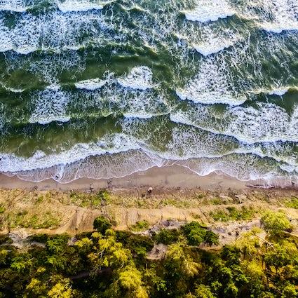 Spectacular views of the Baltic Sea from Olando Kepurė