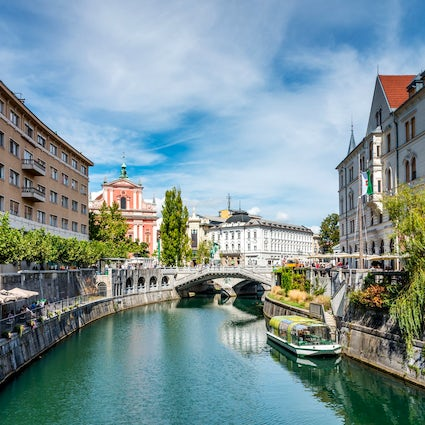 In love with Ljubljana: Slovenian capital in green