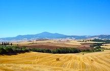 Der Berg Amiata, ein perfektes Ziel für das ganze Jahr über.