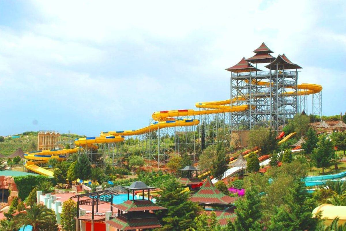 Aquaparks made of dreams in Kuşadası!