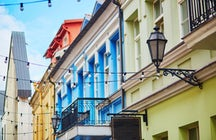 Artistic and vivid streets of Vilnius