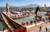 Rio Ganges, Haridwar: Pura felicidade e nirvana