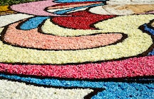 Genzano's floral carpet and traditional bread