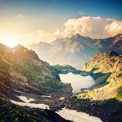 Top 10 meren in Georgië die u moet zien