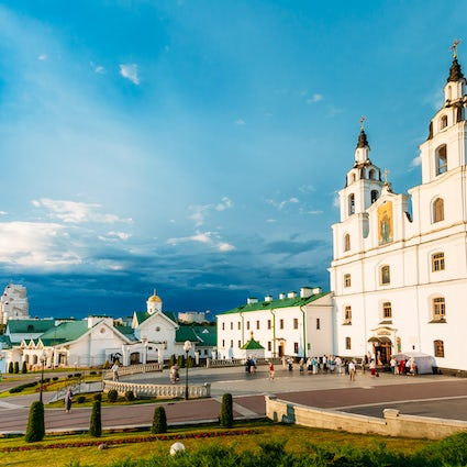 Holy Spirit Cathedral: a magnificent symbol of Minsk
