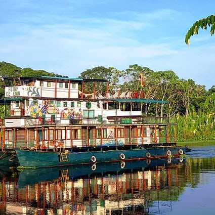 A sailing adventure in the Bolivian Amazon rainforest