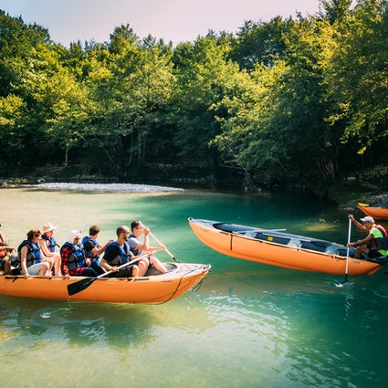 Rafting in Georgia - especially for extreme lovers