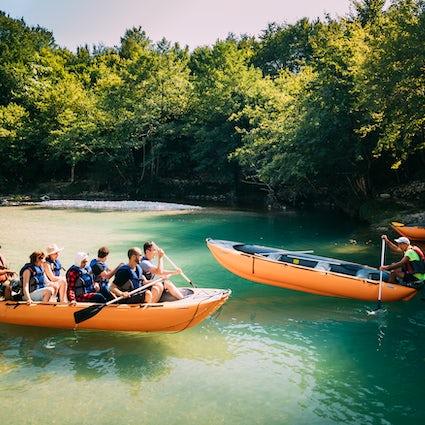 Rafting in Georgien - speziell für Extremliebhaber