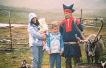 The Sami people in northern Norway