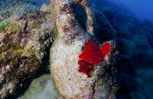 Descubra la bodega submarina en la península de Pelješac