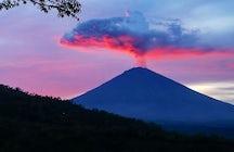 A vista e o ambiente em Amed, East Bali