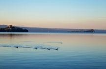 A charming one-day trip at Bolsena Lake