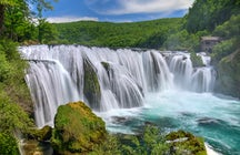 Favourite Bosnia's waterfalls - Una National Park