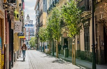 Explore Madrid's downtown neighbourhoods