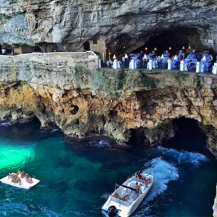 Grotta Palazzese - the most romantic restaurant in the world