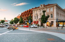 Best 5 shopping streets in Vilnius