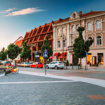 Las 5 mejores calles comerciales de Vilnius