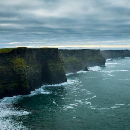 """Música, ondas e """"Tinder"""" em County Clare"""