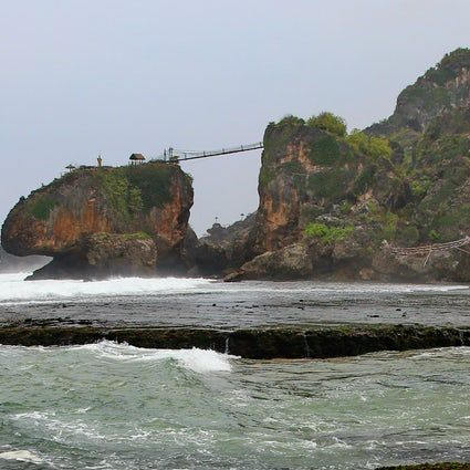 Spiagge misteriose di Yogyakarta