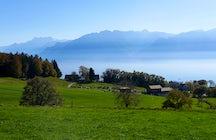 Das Mont-Pèlerin: Ein Balkon mit Blick auf den Genfersee