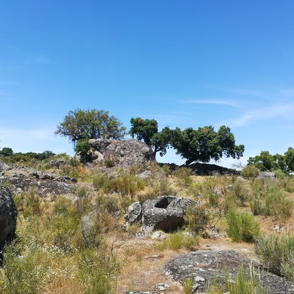 Monte Velho- a trekking route through stone carved graves