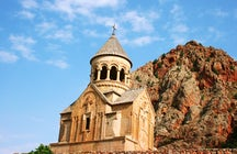 Touch the sky from the Noravank Monastery