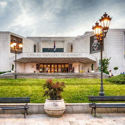 Incontro di classe con il Teatro nazionale serbo a Novi Sad