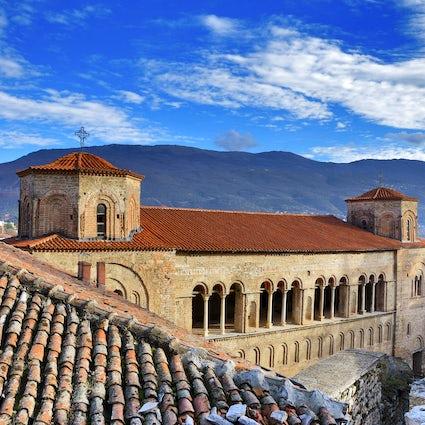 Sainte-Sophie à Ohrid - La plus spéciale des 365 églises