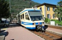 El tren entre Vigezzina y Centovalli