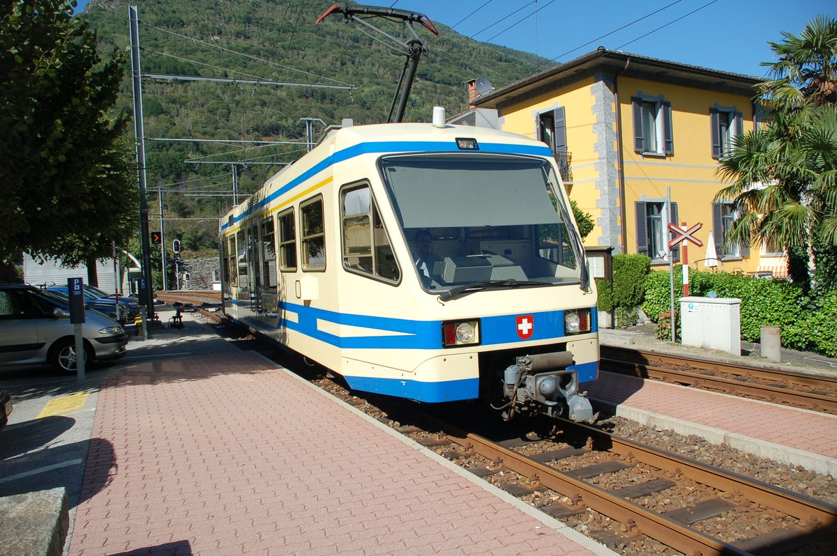 The Vigezzina - Centovalli train