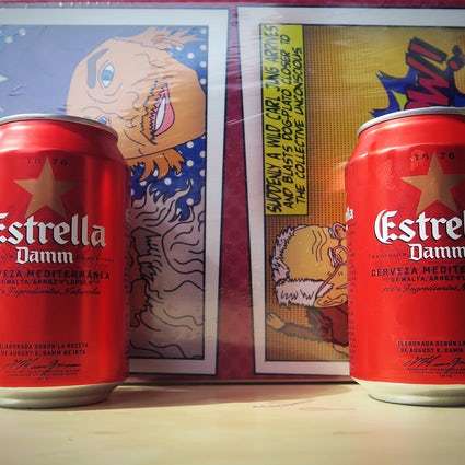 La bière bien-aimée de Barcelone - Estrella Damm