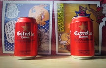 The beloved beer of Barcelona - Estrella Damm