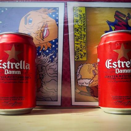 The beloved beer of Barcelona - Estrella Damm