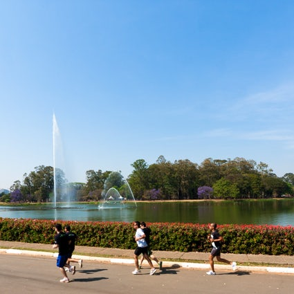 Green areas for sports & relaxation in São Paulo