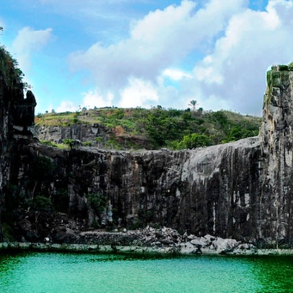 The Blue Lake, a hidden treasure in Jaboatão dos Guararapes