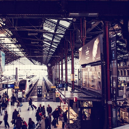 An inspiring story of railway stations in Paris