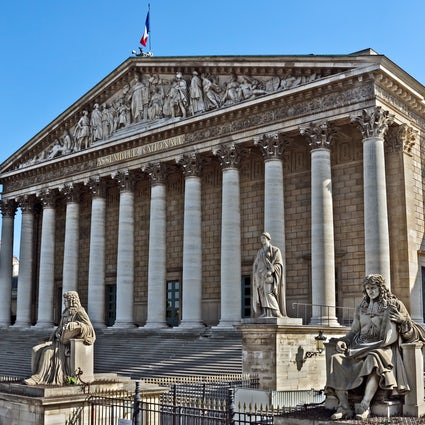 Remarkable buildings in Paris: Palais Bourbon