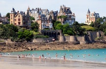 Dinard – a city of chic seaside villas