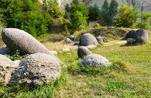 Costești, onde as pedras ganham vida