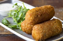 The best ham croquettes in the world- Madrid