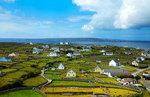 Riding the remote island of Inis Oirr