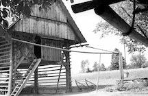 Discovering hayracks in Slovenia