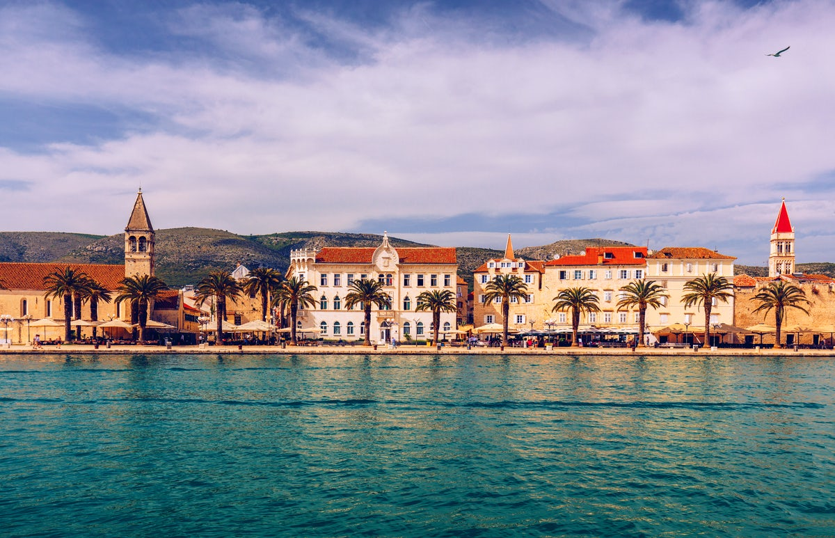 Magical St. Lawrence Cathedral and Fortress Kamerlengo in Trogir