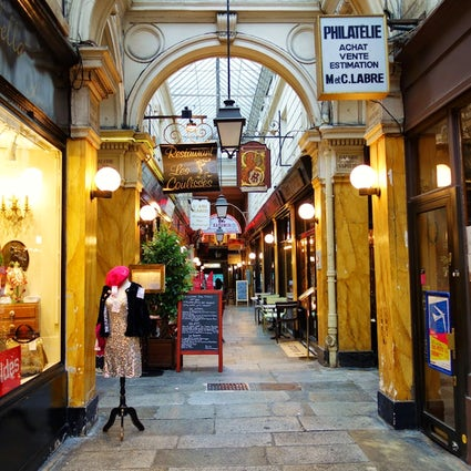 The Covered Passages in Paris: Passage des Panoramas